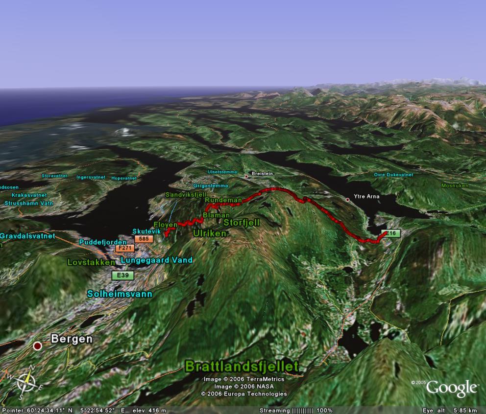 kart over vidden bergen Hiking for Vikings kart over vidden bergen